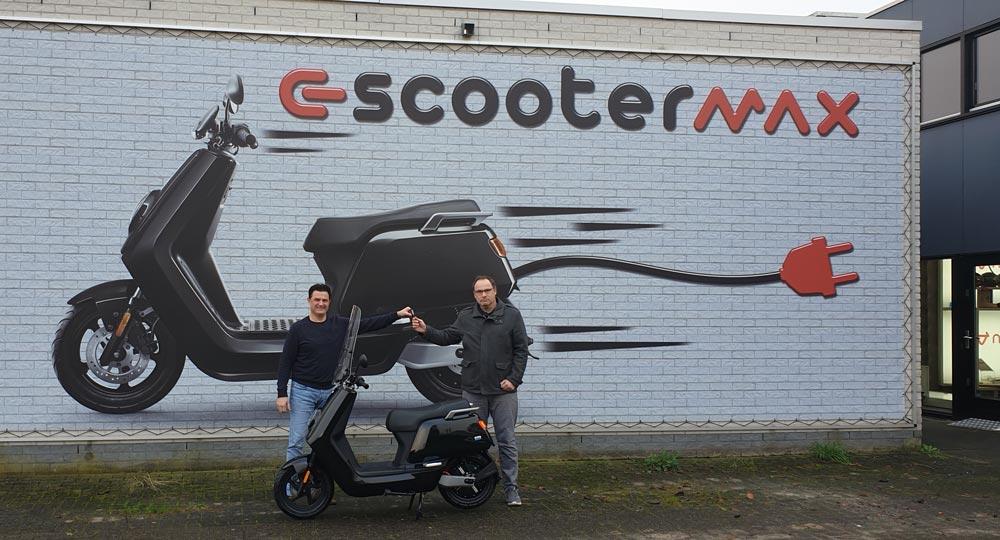 NIU elektrische scooter